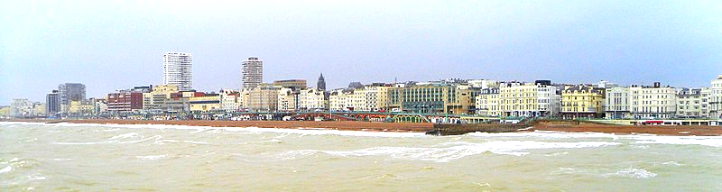 Brighton from the sea