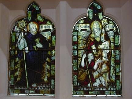 Narthex - St Benedict & St Martin