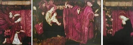 Burne-Jones Triptich