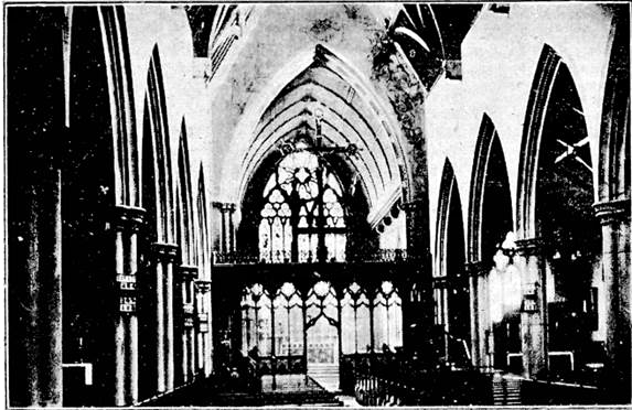 Interior of S. Paul's c.1922