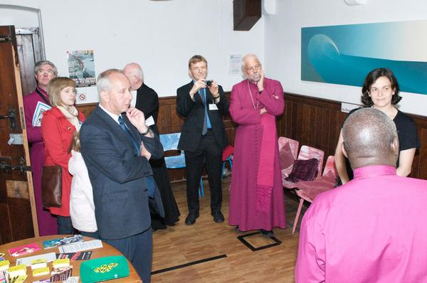 Context- Bishops visiting Safe Space