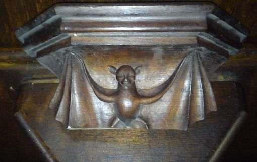 Misericord - bat