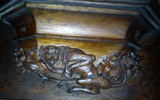 Misericord - monkey demmon