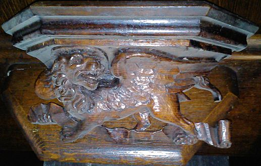 Misericord - St Mark