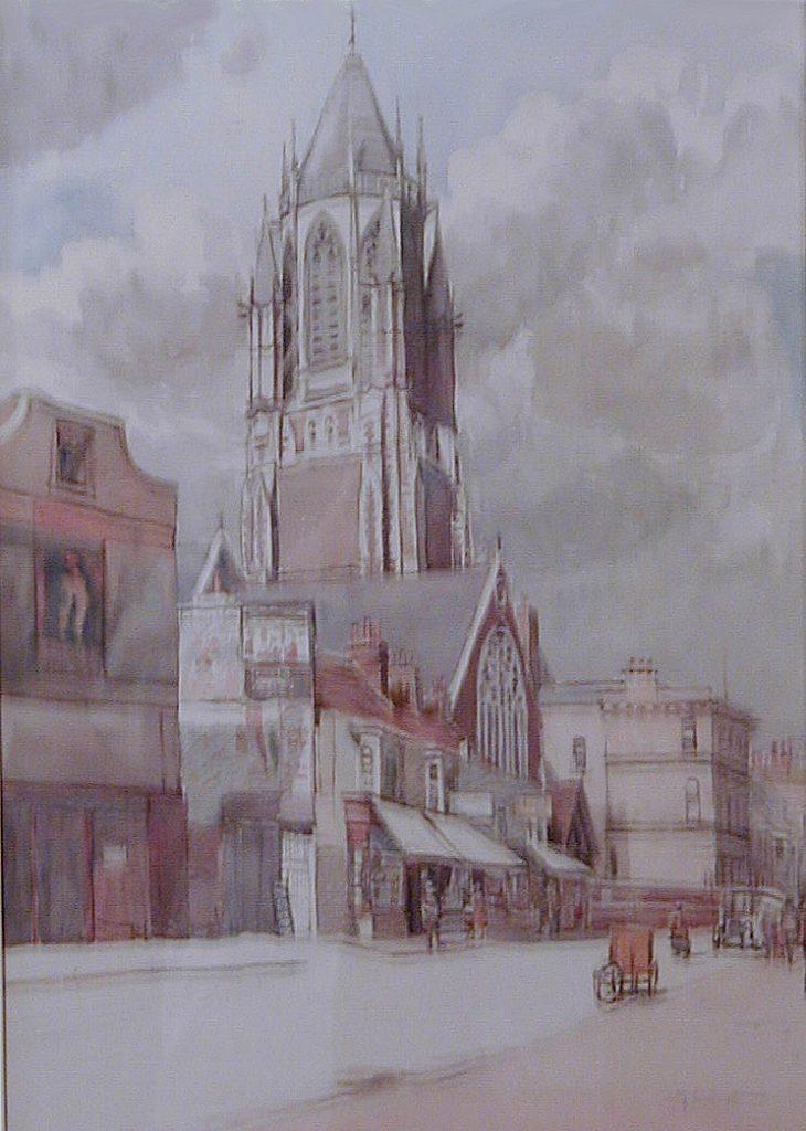 St Paul's - 19c. watercolour